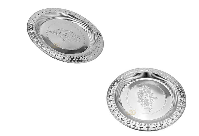 metal serving tray OEM kitchen plate manufacturer