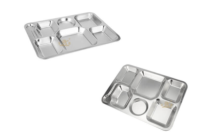 school lunch tray OEM plate stainless steel manufacturer