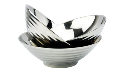 footed bowl pasta bowl import