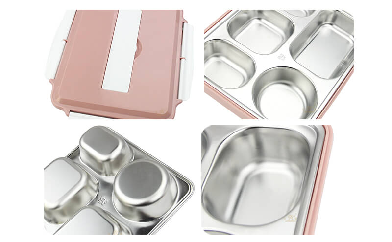 dinner plates OEM compartment plate export