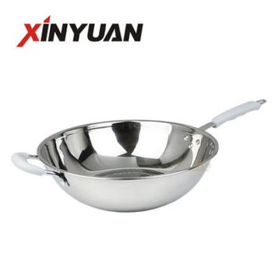 Skillet Frying Pan with Export Exquisite Stainless Steel FT-02114