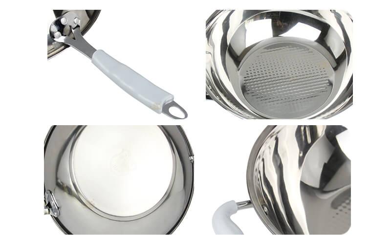 skillet frying pan factory wok export