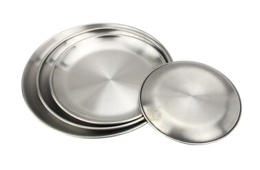 round metal tray wholesale fruit tray import