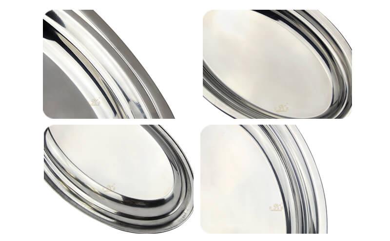 round modern tray export