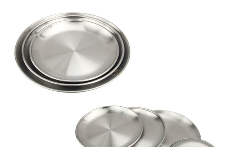 round metal tray wholesale fruit tray price