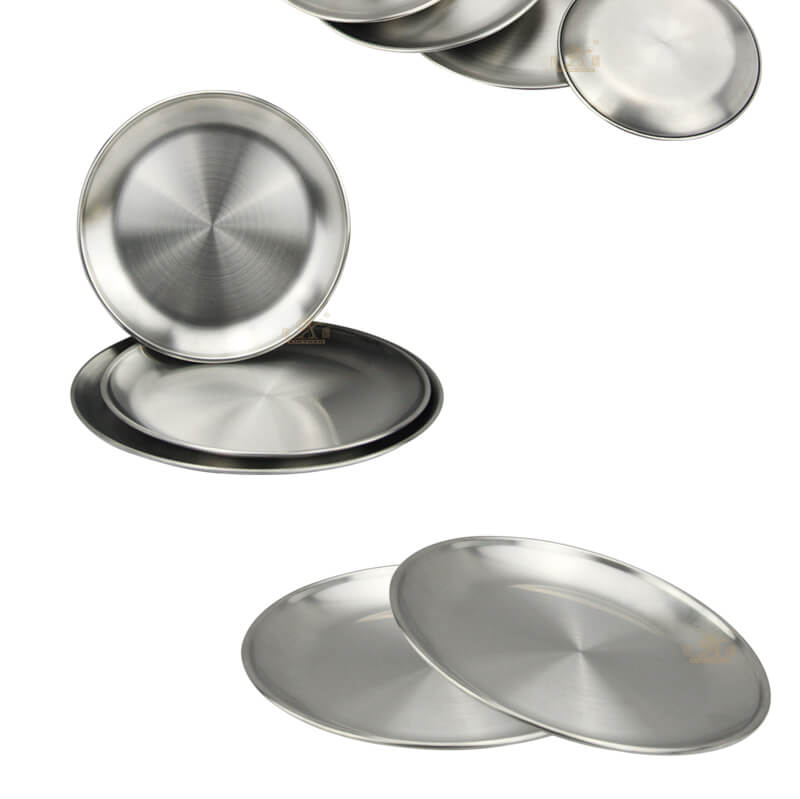 round metal tray wholesale fruit tray manufacturer