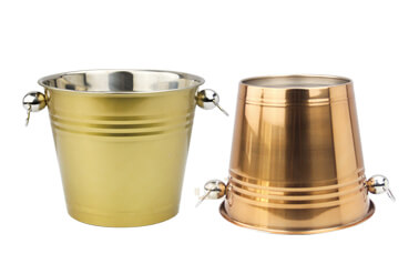 small metal buckets OEM party bucket import