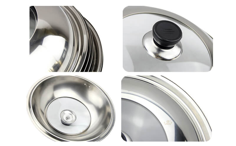 stainless lid export