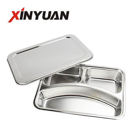 divided serving tray of wholesale price stainless steel