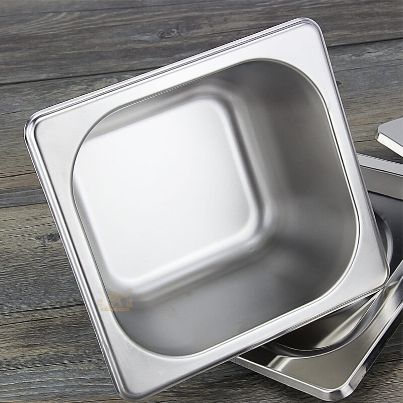 What are the advantages of stainless steel gastronom pans ?