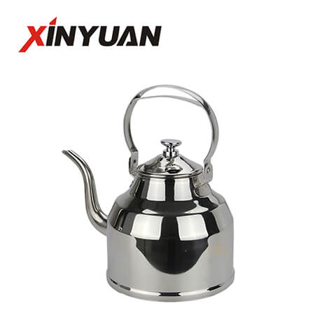 Gooseneck Kettle of Hot Sale Stainless Steel Boiling Water Kettle FT-01412-B