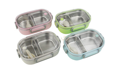 metal lunch containers import