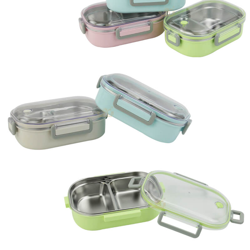 metal lunch containers cheap