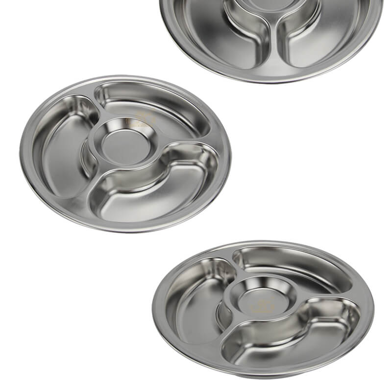 lunch tray OEM circular tray wholesale