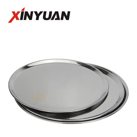 Stainless Steel Kitchen Plate Baking Tray Is Hot Sale Party Serving With 410 S/S  FT-00716