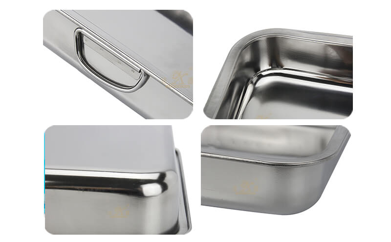 ss tray OEM square tray import