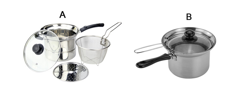 Stainless steel cookware factory