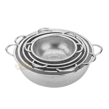 stainless steel filter basin oem
