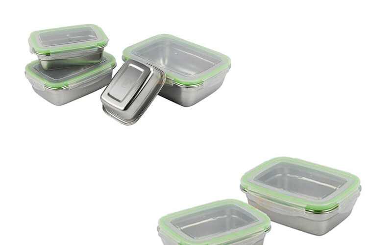 stainless lunch box food factory export
