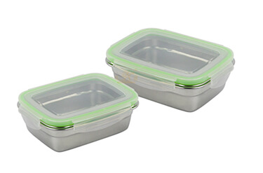 food steel pan containers supplier stainless lunch box OEM