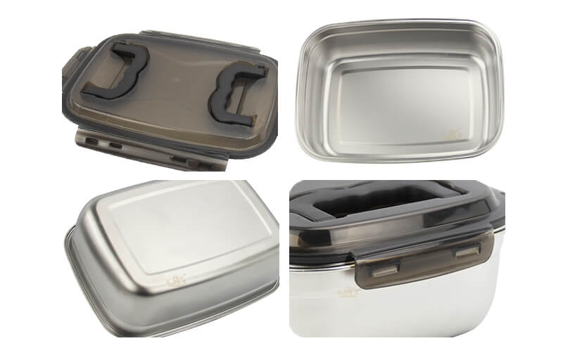stainless steel container import food storage box odm