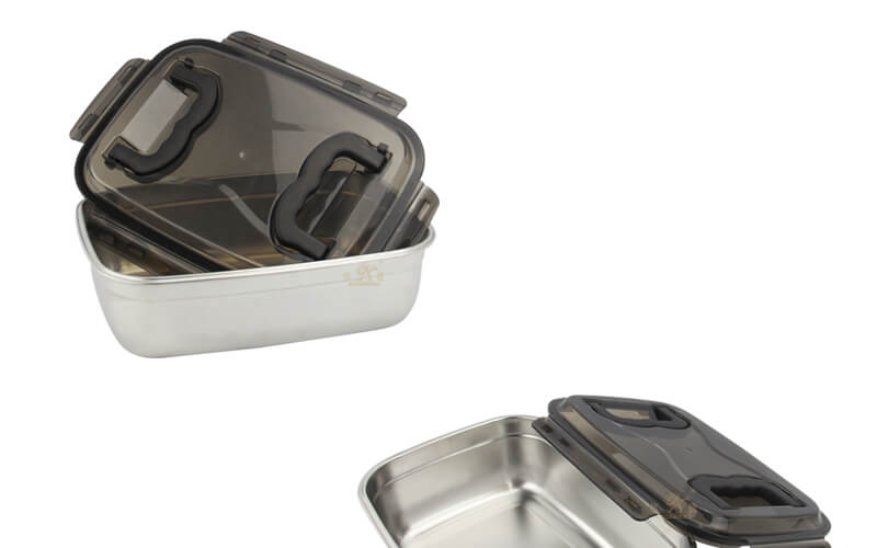 stainless steel container import food storage box factory