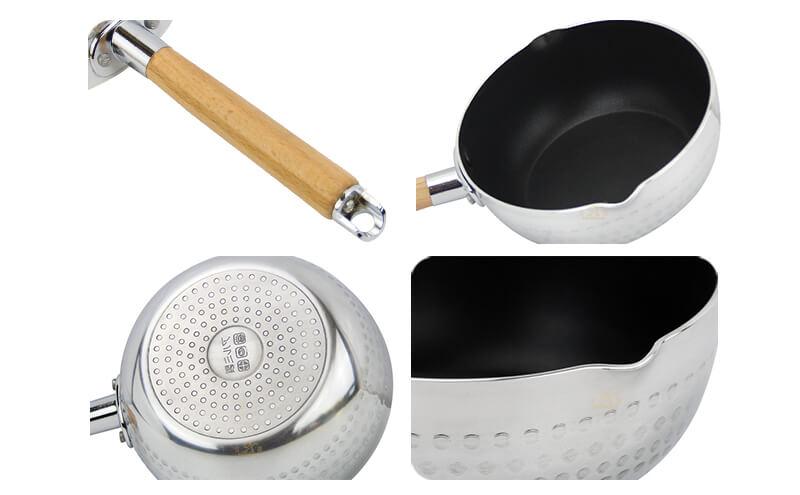 korean cooking pan factory milk pot ODM