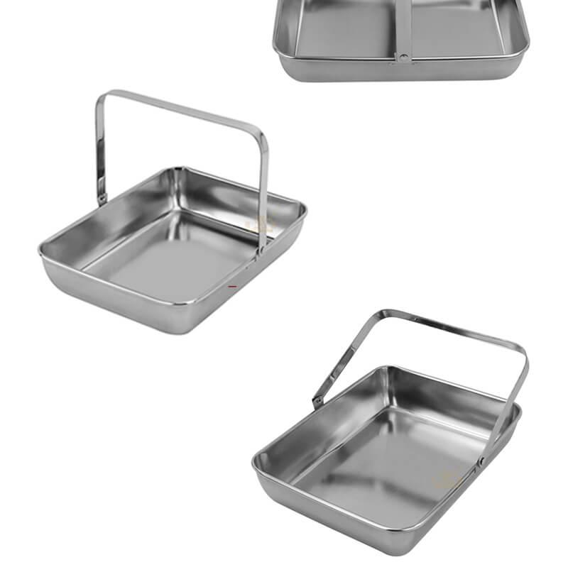 portable rectangle dish supplier