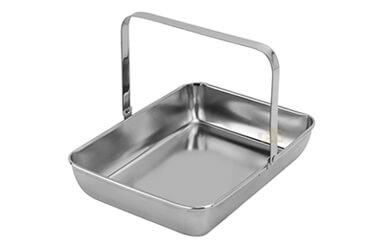 portable rectangle dish oem