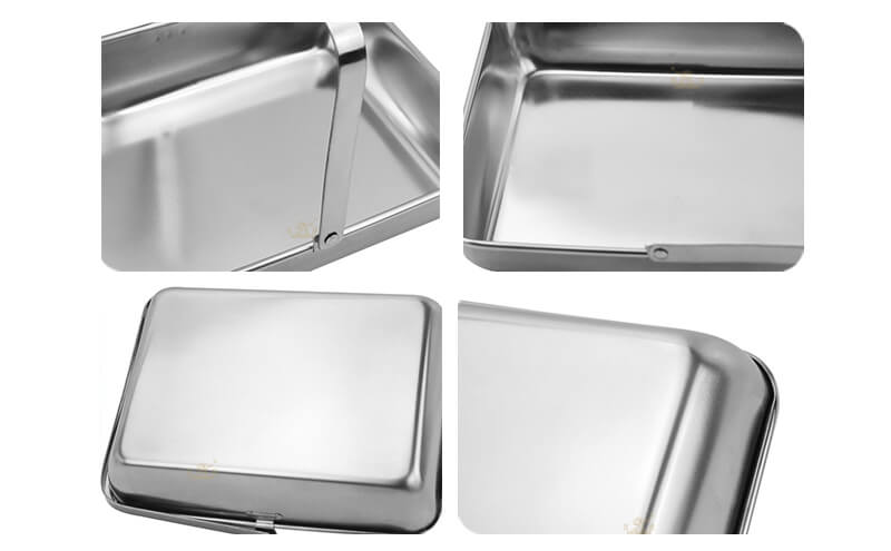 portable rectangle dish odm