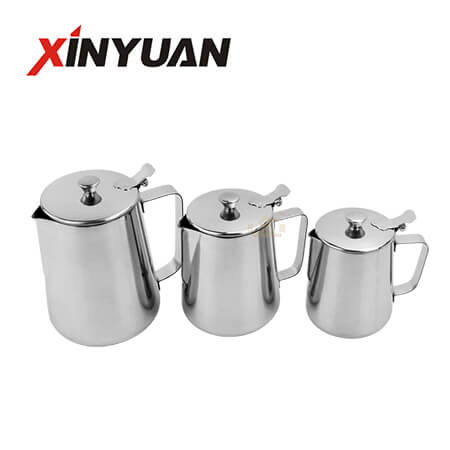 Milk can with cover stainless steel tip manufacturer OEM