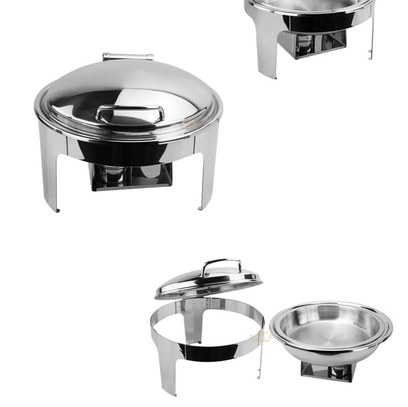 buffet round dish export hydraulic hot pot factory
