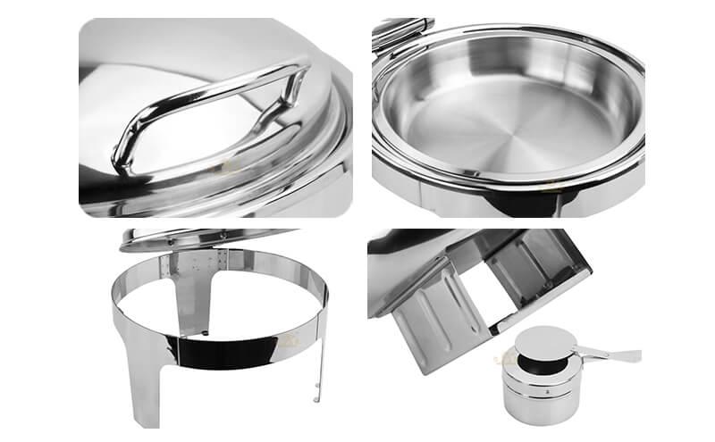 buffet round dish export hydraulic hot pot ODM