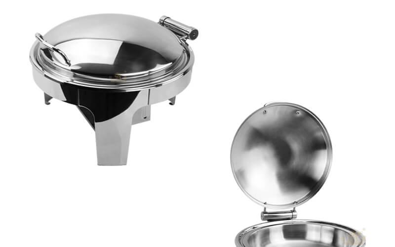buffet round dish export hydraulic hot pot supplier