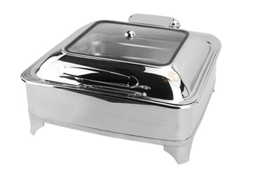 chafing dish square, export keep warm pot OEM