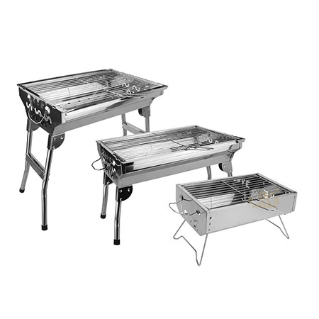 steel portable barbecue grill import
