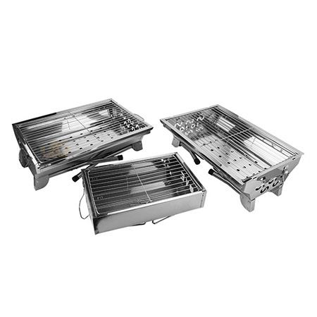 steel portable barbecue grill factory