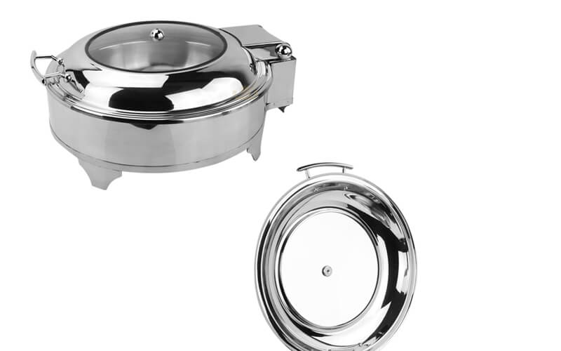 round chafing pot factory