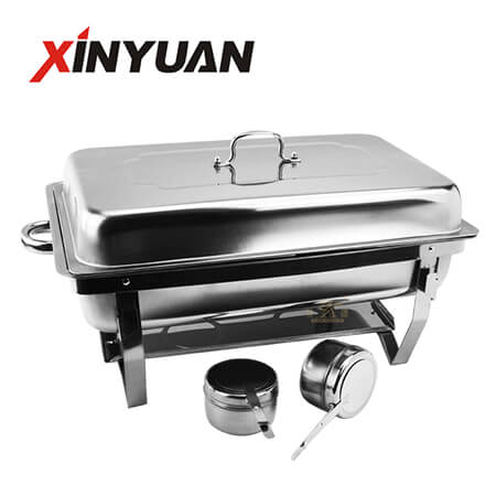 Folding chafing dish buffet , food thermostatic container, self-service hot pot