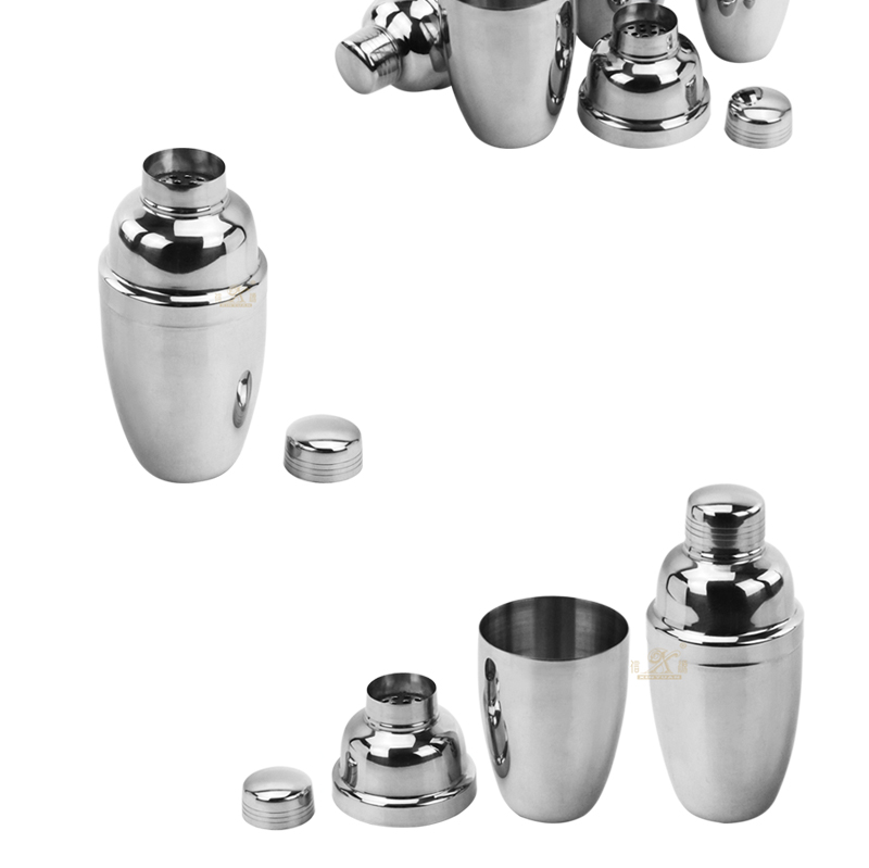 cocktail shaker export metal mixers supplier
