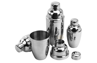 cocktail shaker export metal mixers OEM