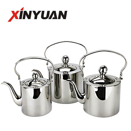 Coffee Beverage Kettle of Stainless Steel Supplier Teapot of High Quality FT-01414
