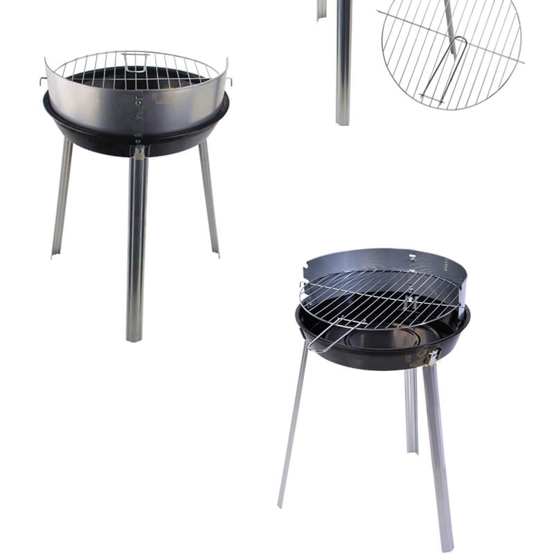 folding round barbecue grill export BBQ grill export