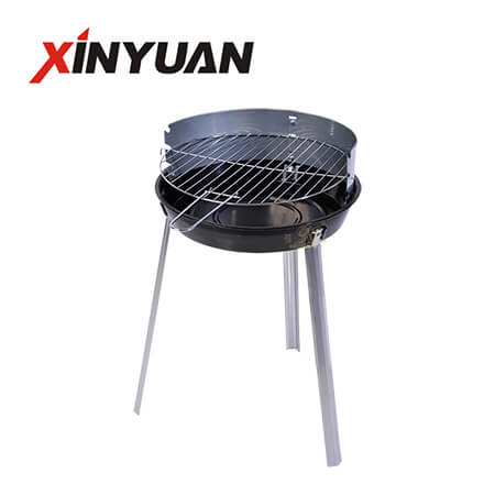 Folding Round Barbecue Grill with New Design for Camping Bbq Suppliers FT-02816