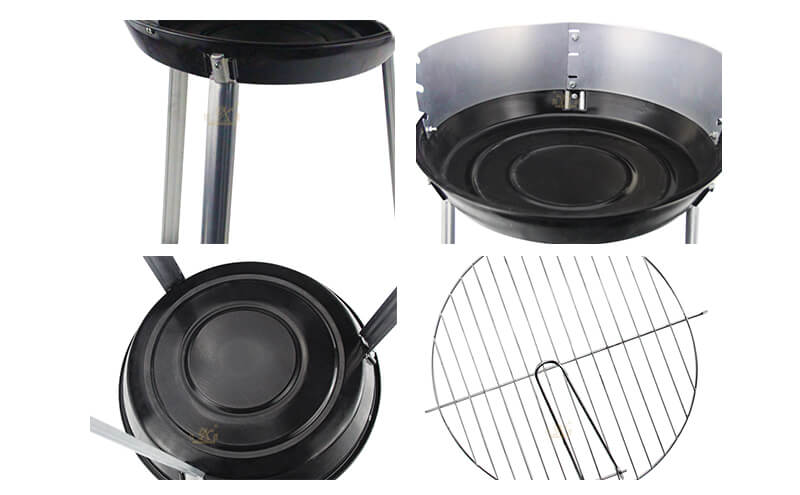 folding round barbecue grill ODM