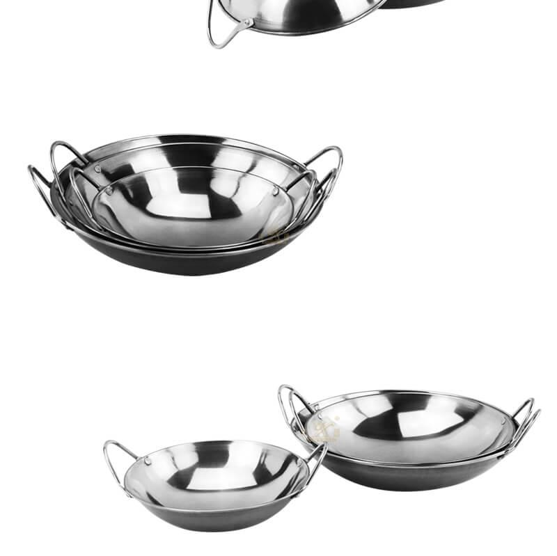 steel serving wok bar export mini pot factory