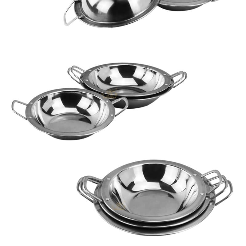 steel small dry pot export bar service pot supplier