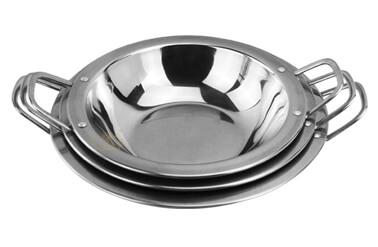 steel small dry pot export bar service pot OEM