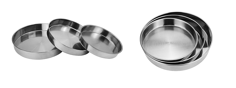 stainless steel tools serving tray set wholesale