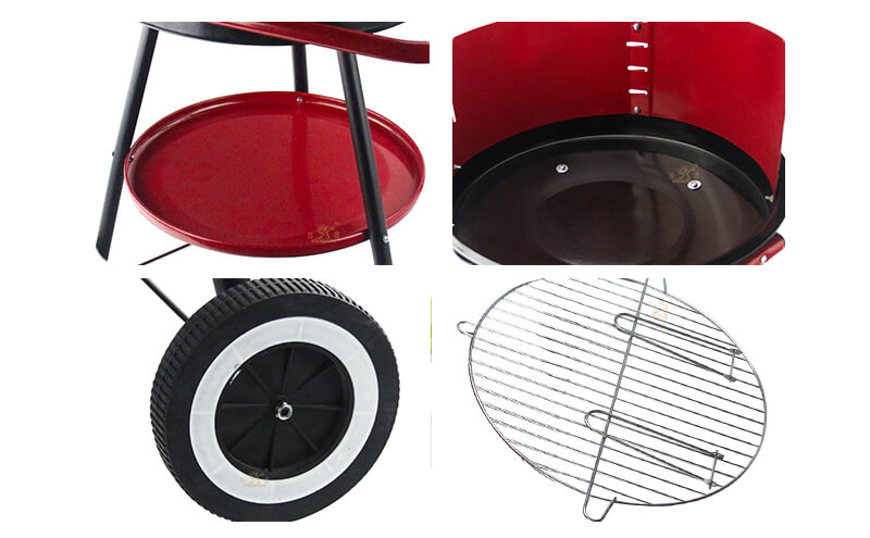 iron round barbecue grill outdoor grill factory